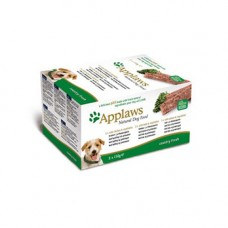 Applaws Cat Pate Chicken, Lamb and Salmon 7x100g