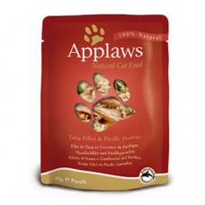 Applaws Tuna Fillet with Pacific Prawn Pouch 12x70g