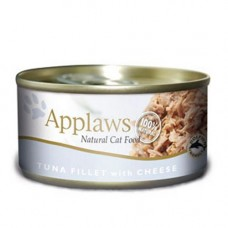 Applaws Tuna Fillet with Cheese 24x70g