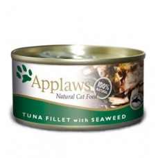 Applaws Tuna Fillet with Seaweed 24x70g