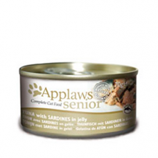 Applaws Senior - Tuna with Sardine in Jelly 24x70g