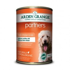 Arden Grange Partners Chicken and Rice 24x395g