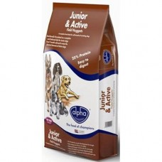 Alpha Junior and Active 15kg x2 (30kg) VAT FREE