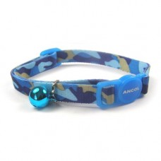 Ancol Collar Camouflage Blue