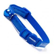 Ancol Collar Gloss Reflective Blue