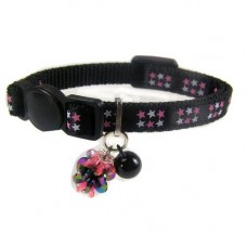 Ancol Luxury Kitten Collar With Charm Black