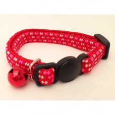 Ancol Kitten Collar Softweave Red and Pink