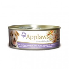 Applaws Cans Tuna Fillet with Vegetables 16x156g