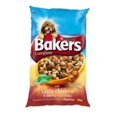 Bakers Complete Chicken and Country Veg 14kg