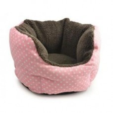 Ancol Deep Dish Pink Bed 48cm