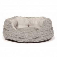 Danish Design Bobble Pewter Slumber Bed 18 Inch - 46cm