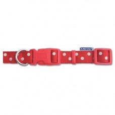 Ancol Vintage Polka Collar Red 45-75cm
