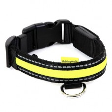Animate LED Collar Green Small, 25x34-41cm