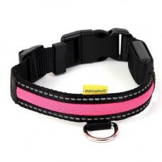 Animate LED Collar Pink Small, 25x34-41cm