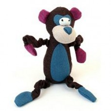 Animate Canvas Monkey Brown Dog Toy