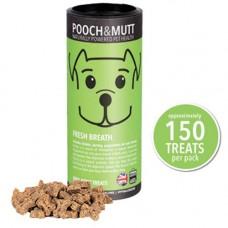 Pooch and Mutt Fresh Breath Mini Bone Treat, 125g
