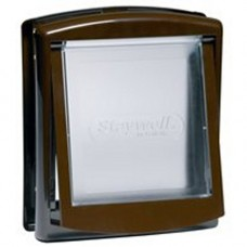 Staywell 700 2 Way Door Brown - Cats and Small Dogs