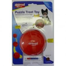 Animal Instincts Puzzla Treat Ball Dog Toy Medium