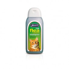 Johnsons Cat Flea Repellent Shampoo 200ml